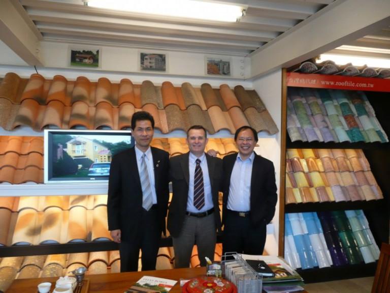 Tejas Borja visita al distribuidor en Taiwan (Tung Jih)