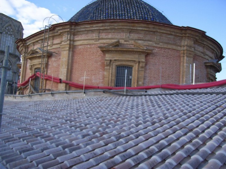 Rehabilitación cubierta Basílica de la Virgen ( Valencia )