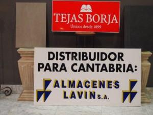 Almacenes Lavin y Tejas Borja reune a profesionales del sector