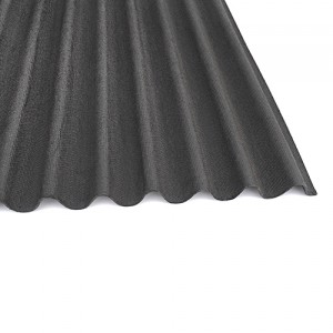 Bitumen sheet for tiles with batten