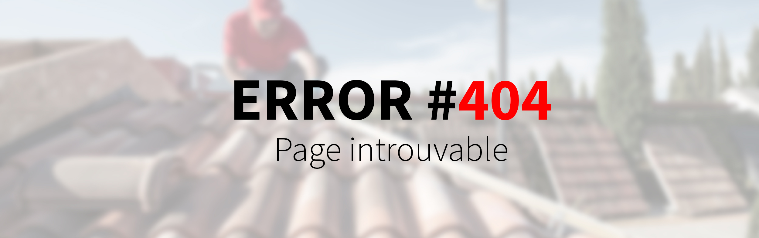 404 Page Introuvable