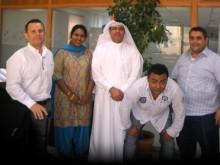 Tejas Borja en Emirates