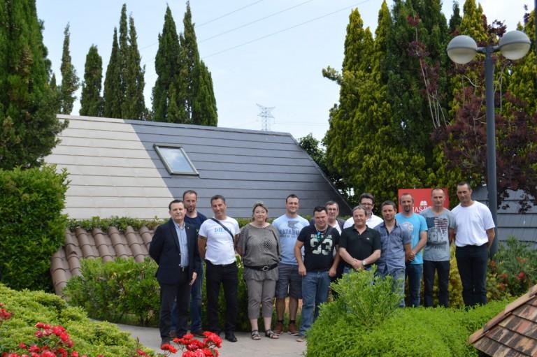 Chausson Matériaux visite Tejas Borja
