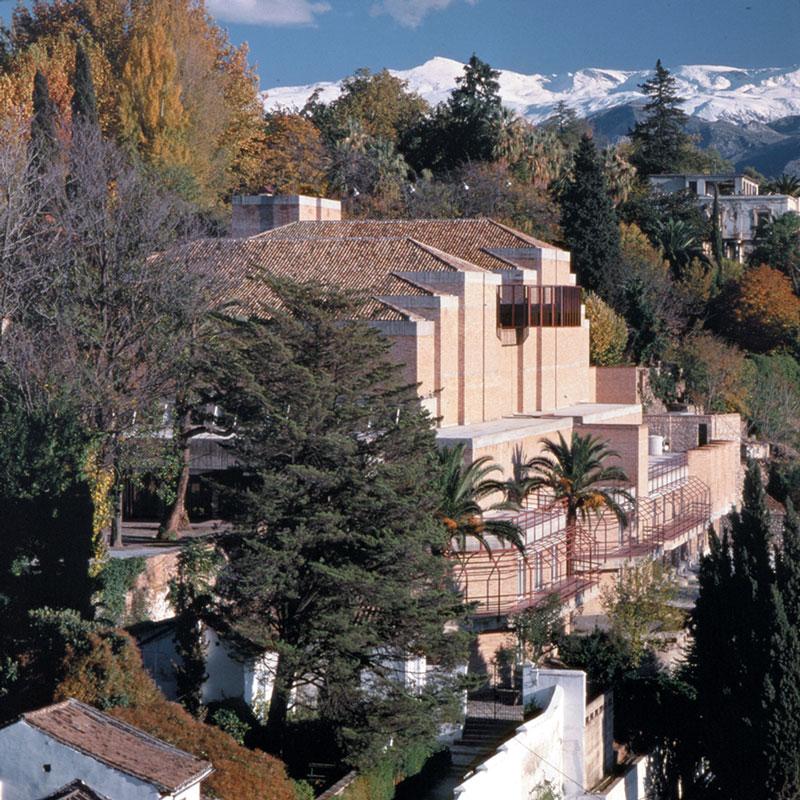 José María García de Paredes en Granada