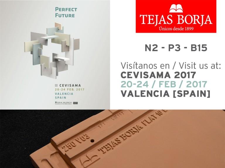 Tejas Borja sera présente au Cevisama 2017