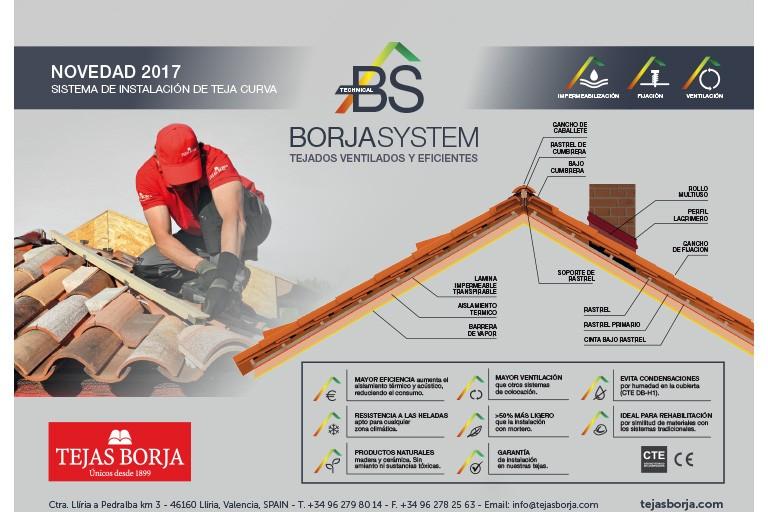 BORJASYSTEM – Sistema de Instalación de Tejados Ventilados