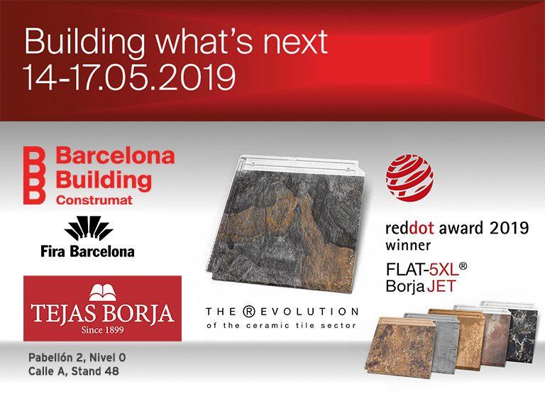 Tejas Borja en Construmat Barcelona 2019