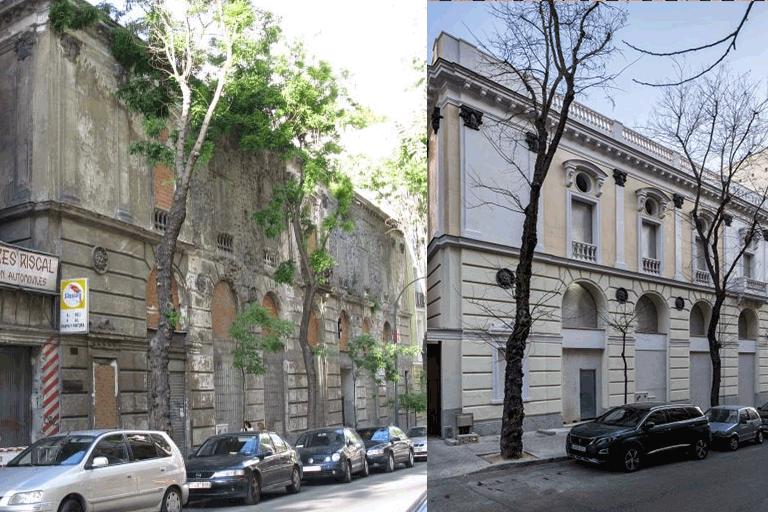 La rehabilitación del frontón Beti Jai de Madrid