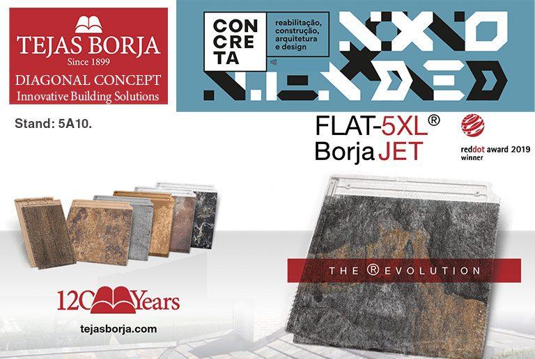 Tejas Borja en CONCRETA 2019