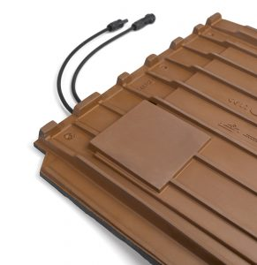 SOLAR FLAT-5XL ceramic roof tile