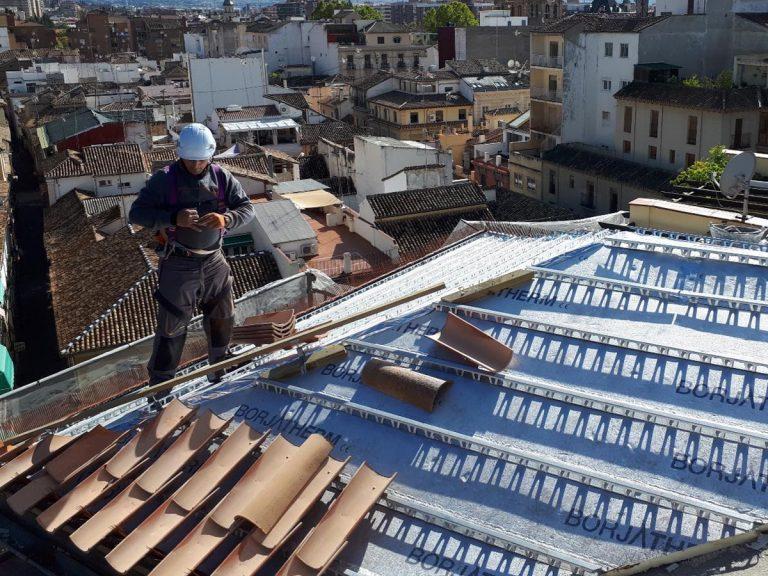 tejados eficientes con tejas curvas