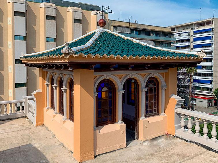 Tejas Curvas _Palacete Burgos (Casa del Médico) – Valencia